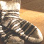 A pair of socks.