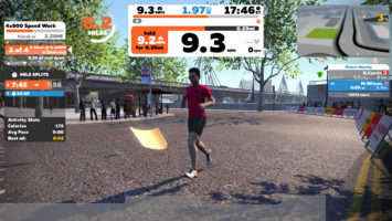 Zwift running review